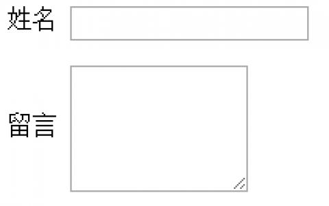 label文字与textarea、input垂直居中、顶部对齐的方法