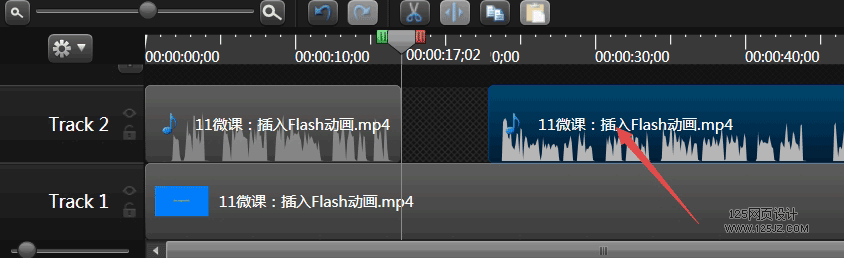 录制的视频声音和画面不同步如何调整-camtasia教程